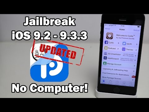 UPDATED How to Jailbreak iOS 9.3.3 / 9.3.2 / 9.3.1 Without a Computer on iPhone, iPod touch or iPad