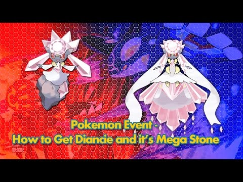 Diancie ORAS Event and its Mega Stone (Ended July 27, 2015)