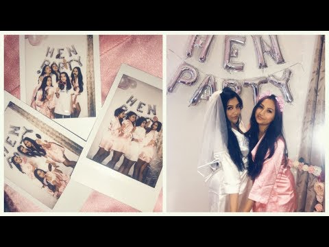 GRWM Hen Party