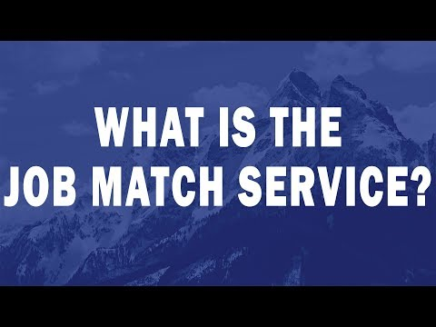 What is the Job Match Service?