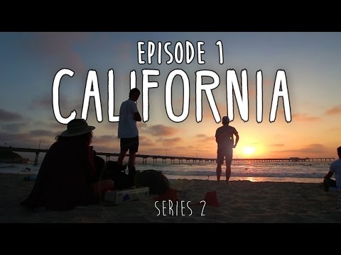 HOW TO TRAVEL CENTRAL AMERICA ON $1000 - Ep1 - CALIFORNIA