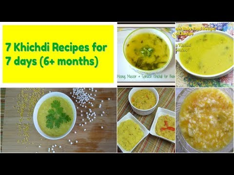 Homemade baby food recipes: 7 khichdi recipes for babies & kids