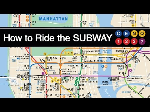 How to Ride the Subway in New York City