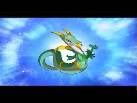 Pokemon Conquest English: Serperior Evolve!