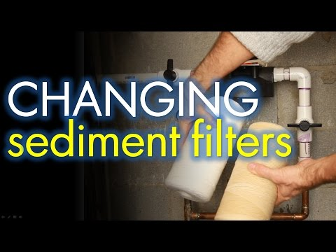 How to Change Your Sediment Filter: Pelican PSE1800 or PSE2000