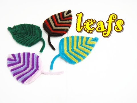 Pipe Cleaner Craft - Leaf