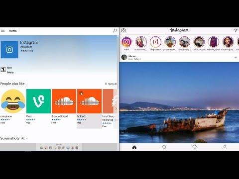 Instagram App for Windows PC