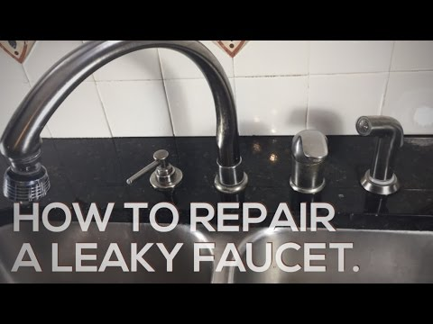 How to repair a leaky Delta faucet.