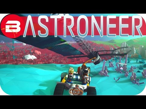 Astroneer Gameplay - SOLAR PANEL WINCHING! #17 Let's Play Astroneer