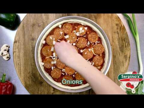 Mediterranean Classic Pizza - Sarpino's Pizzeria Video
