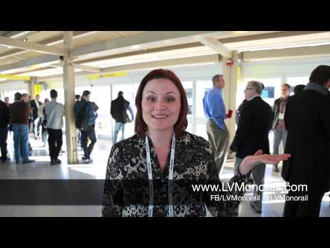 Las Vegas Monorail Coverage of CES 2014 | Las Vegas Transportation