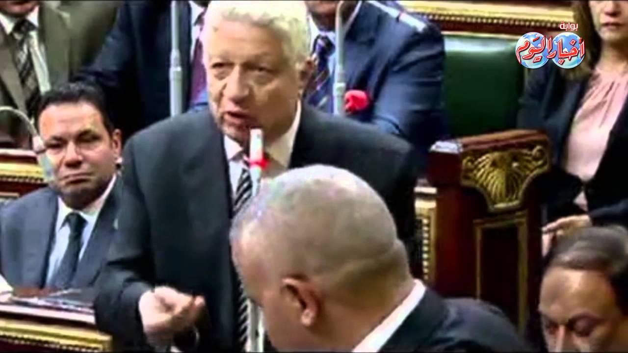 مرتضى منصور يعيد أداء اليمين الدستورية بعد خناقة في البرلمان