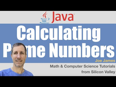 Java: Calculating Prime Numbers