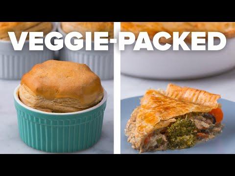 Semi-Homemade Veggie-Packed Pot Pie 2 Ways