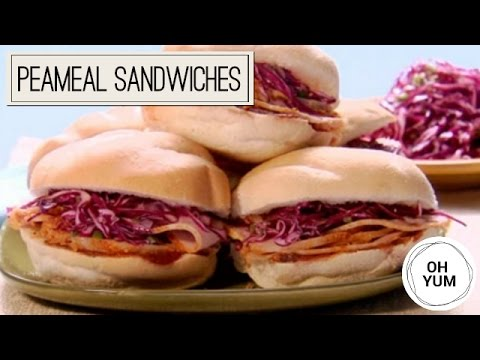 Peameal Sandwiches with Coleslaw | Oh Yum with Anna Olson