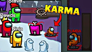 INSTANT KARMA IN Among Us! Funny Moments #37