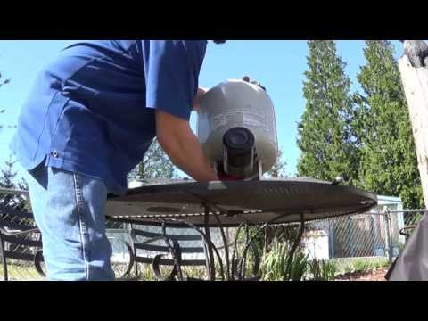 How to refill one pound propane bottles using Mr. Heater adapter F276172.