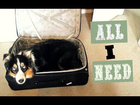 I've packed all that I need - Vlog 8 (2017)