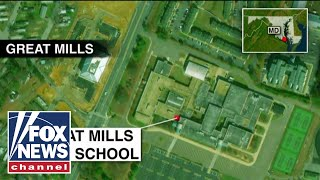 Police respond to shooting at Maryland high school