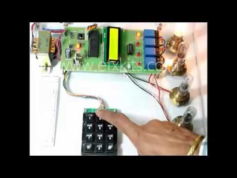 Electric Line Man Safety with Password Based Circuit Breaker