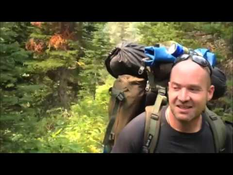 Backpacking Canada Rocky Mountains Trailer