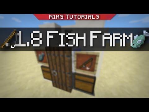 Minecraft: Tutorial | AFK Fish Farm! (BROKE, 1 11+ IN DESC