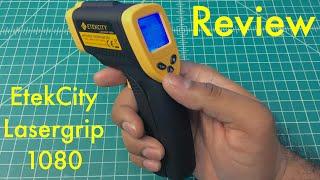 Infrared thermometer DT380 - hidden settings - PakVim net HD