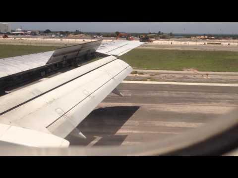 Aterrizaje de Boeing 737-300 de Tiara Air en Aruba