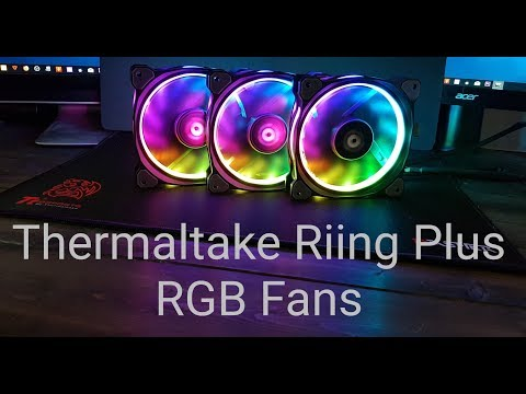 Thermaltake Riing Plus 12 RGB Fan A Fully Comprehensive