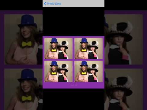 PG Booth the best DIY Photo booth app photo strip settings