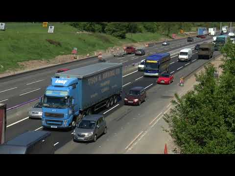 CRAWLING LORRIES M6 MIDDLEWICH MAY 2018