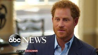 Prince Harry Opens Up about Princess Diana, Having Kids
