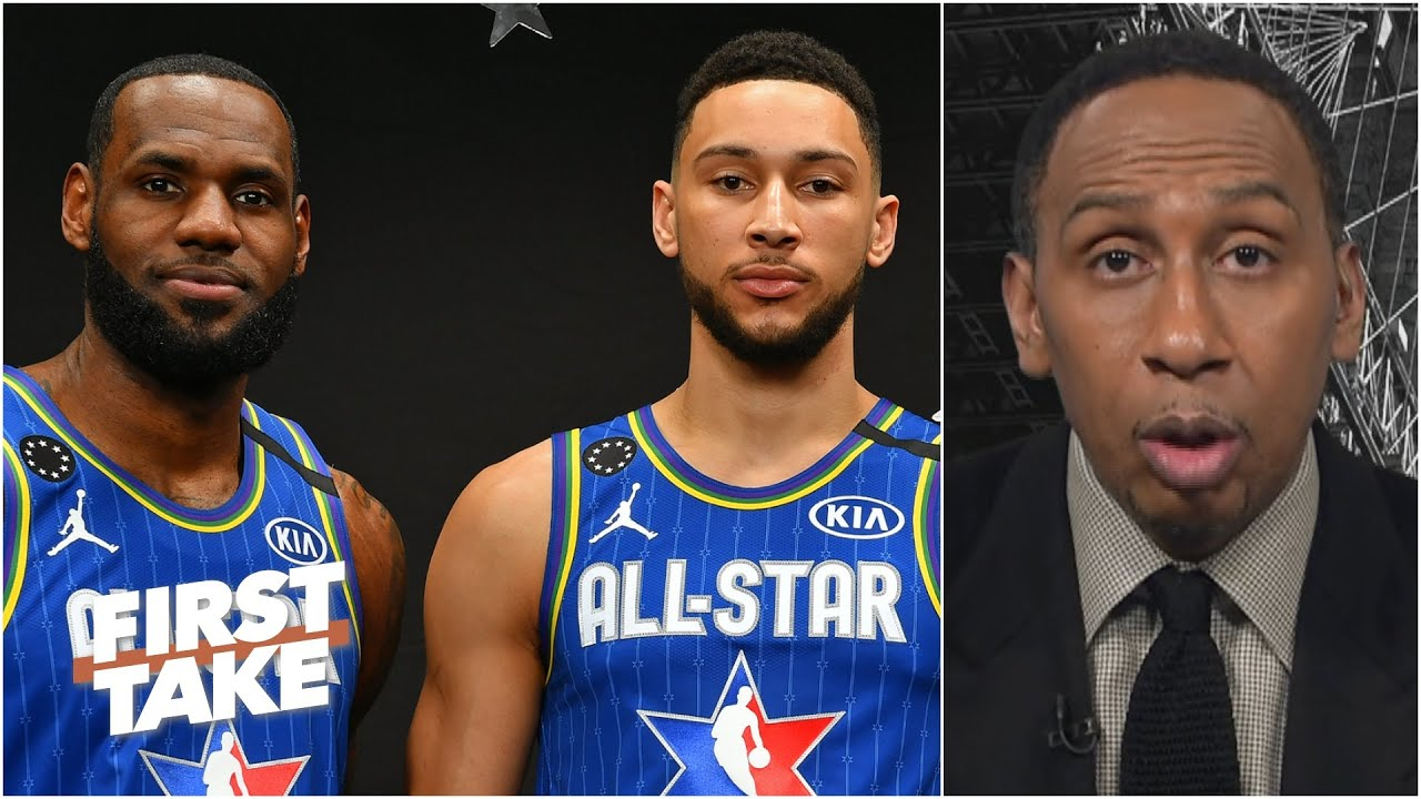 Ben Simmons is 'a jumpshot away from being LeBron James part 2' - Stephen A.   First Take
