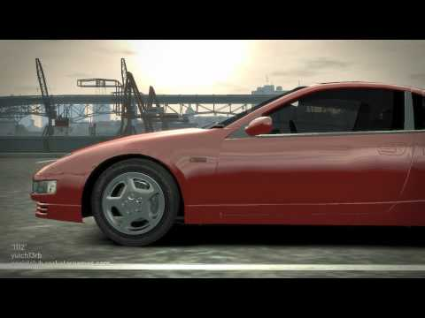Nissan 300ZX 【CAR REVIEW SERIES Part 8 in GTA IV by Iryu 】