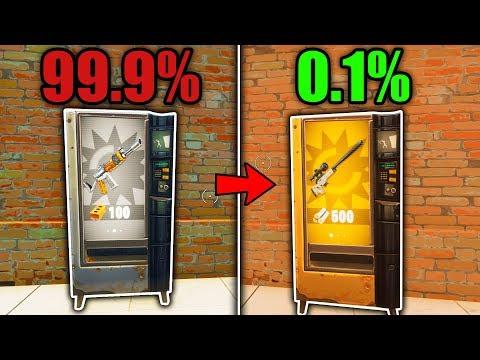 TOP 5 REASONS 'VENDING MACHINES' FAILED in Fortnite! (why vending machines SUCK!)