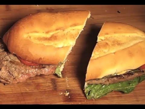 Mexican Style Steak Sandwich (Torta)