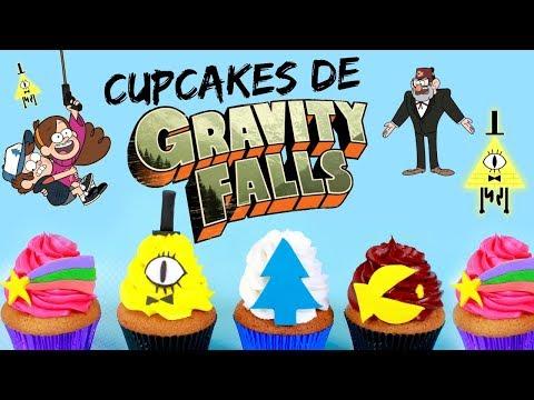 CUPCAKES DE GRAVITY FALLS