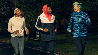 adidas | Running With Ninja, JuJu Smith-Schuster and Maria Taylor