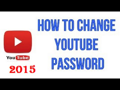 How To Change Your Youtube Channel Password Hindi/urdu