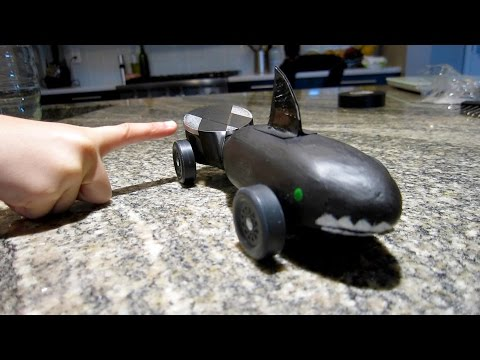 How to make a Pinewood Derby Car without power tools
