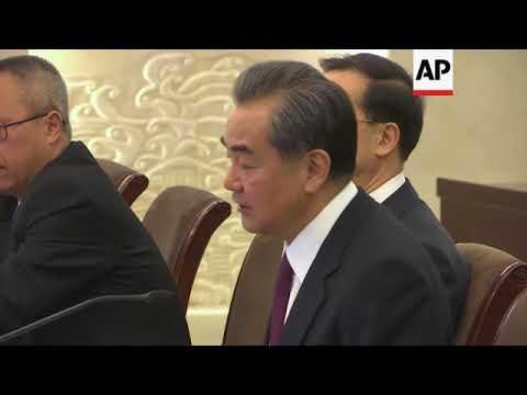 UN chief Guterres meets Chinese FM on Beijing trip
