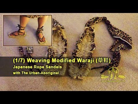 (1/7) Weaving Waraji (rope sandals) w/ The Urban-Abo: Intro