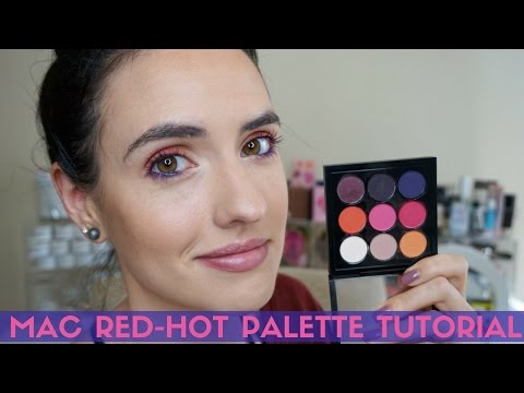 New MAC Red-Hot Times Nine Palette | Chatty Tutorial