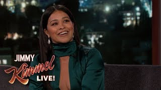 Gina Rodriguez on Being Rebellious in High School & New Movie Someone Great
