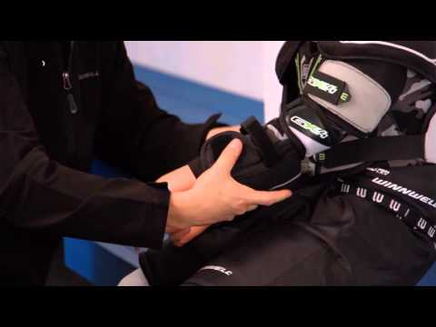 How to fit Hockey Elbow Pads  by WINNWELL HOCKEY