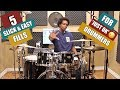 Download  5 SLICK & EASY FILLS For 'JUST OK' DRUMMERS - PRACTICE AID VIDEO! MP3,3GP,MP4