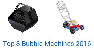 8 Best Bubble Machines 2016