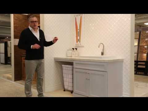 Design Your Own Laundry Room - Mosaic Tile Ideas