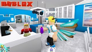 Roblox Bloxburg - Cooking Cookies in my New Kitchen and Adopting a Homeless Child!