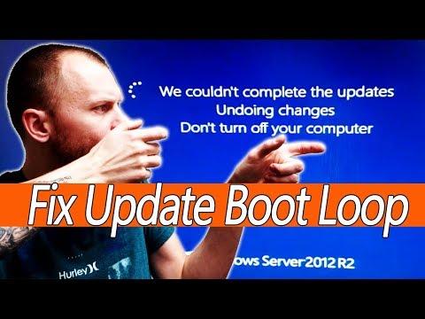 Fix Windows Update Boot Loop, Windows 10, 8.1, 8, 7, vista